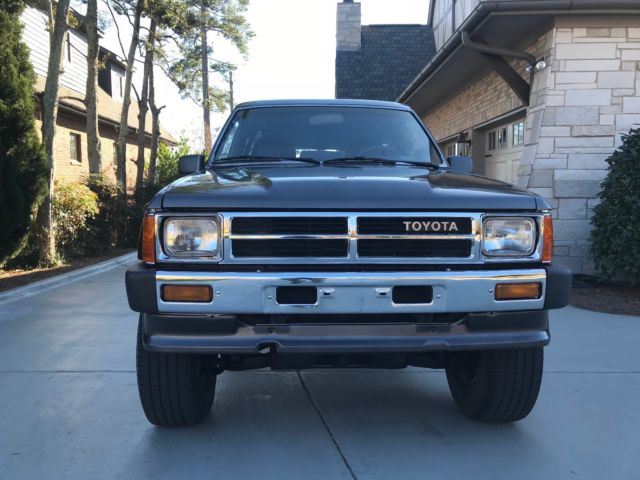 amazing condition 1987 toyota 4runner sr5 turbo automatic. Black Bedroom Furniture Sets. Home Design Ideas