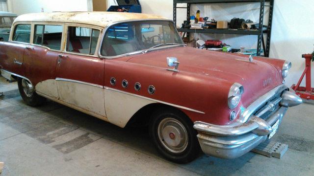 barn find 1955 buick century wagon rat rod 99 rust free. Black Bedroom Furniture Sets. Home Design Ideas