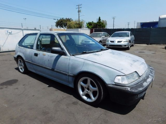 c 1991 honda civic dx used 1 5l i4 16v automatic no reserve. Black Bedroom Furniture Sets. Home Design Ideas