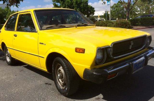 ca classic 1976 toyota corolla coupe 1 owner original title no rust no reserve. Black Bedroom Furniture Sets. Home Design Ideas