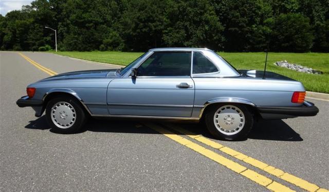 California 1987 mercedes benz 560sl base convertible 2 for Mercedes benz socal