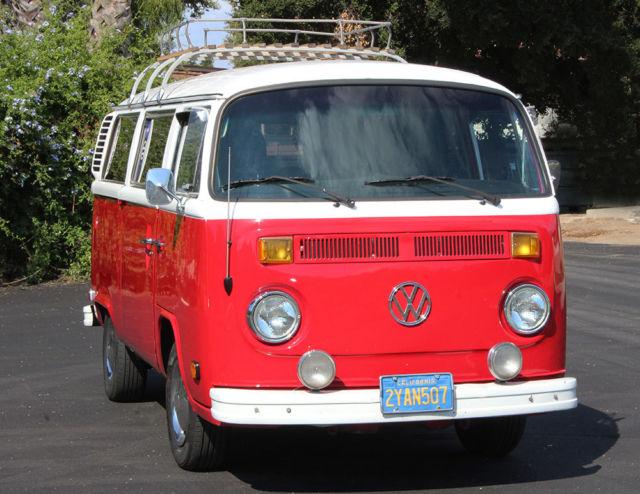 california original 1978 vw type 2 hippy bus transporter 100 rust free. Black Bedroom Furniture Sets. Home Design Ideas