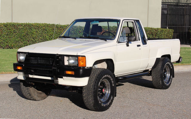 california original 1986 toyota pickup 4x4 xtra cab 100. Black Bedroom Furniture Sets. Home Design Ideas
