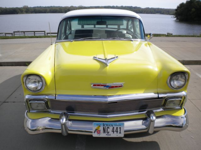 Chevrolet Two Ten Delray Club Coupe Cowl Tag Style 56