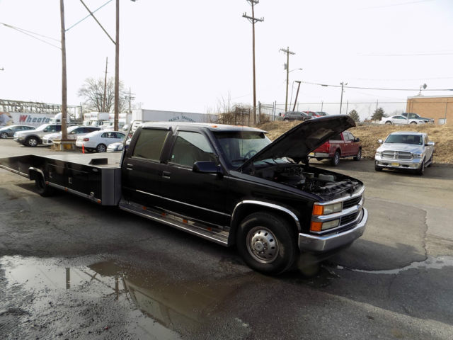 Chevy 3500 Crew Cab 454 Ramp Truck Toy Hauler Tow Truck Wedge