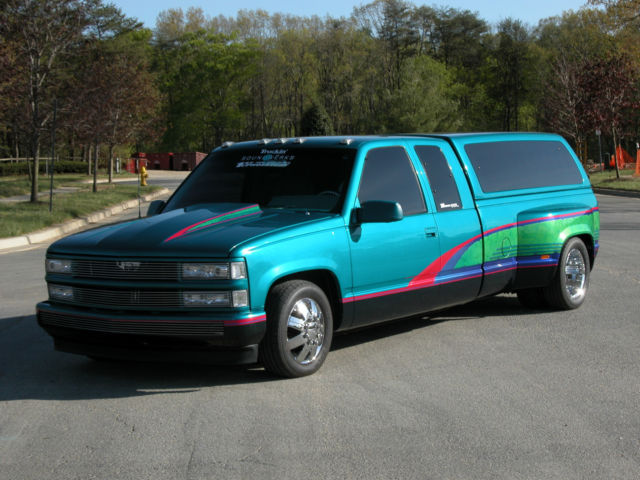 Chevy 3500 Dually Vortech Supercharged 454 Show Truck