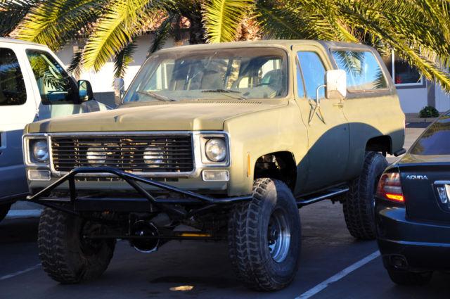 Chevy K5 Blazer Rock Crawler