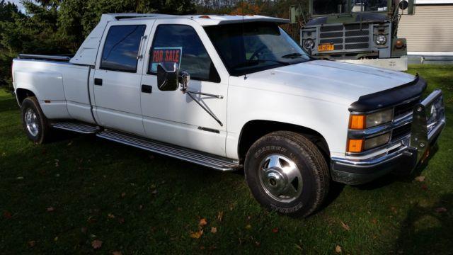 Chevy Silverado 3500 Crew Cab Long Bed Dually Diesel