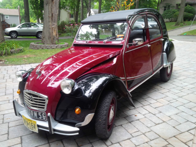 citroen 2cv model charleston 4doors year 1971 mile14 500