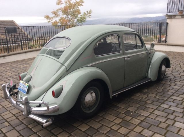 classic 1956 beetle with A/C
