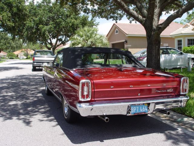 Classic 1966 Ford Fairlane 500 Convertible