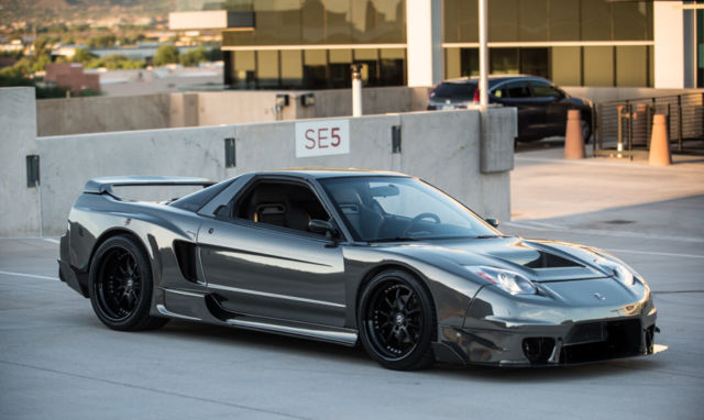CUSTOM 650HP ACURA NSX WIDEBODY TURBO, '02 CONVERSION, CUSTOM WHEELS + MORE!!!!