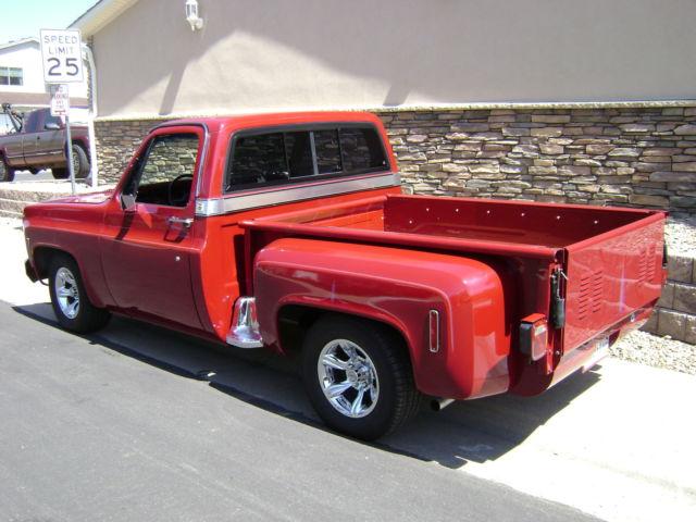 Used Chevrolet Silverado Denver >> Custom 77 Silverado Step Side, Short Bed Chevy Truck, Looks, Runs & Drives NICE