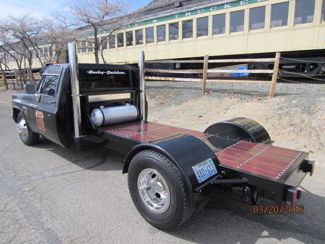 custom chevy ratrod rat rod dually flatbed w 454 400 auto. Black Bedroom Furniture Sets. Home Design Ideas