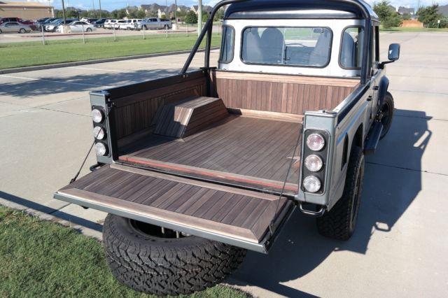 Defender 130 Silversnow Houston Pick Up Truck 3 5l V8