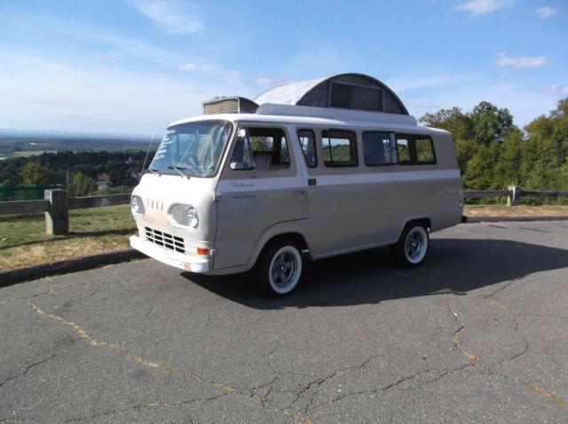 Econoline Super Van Falcon Travel Wagon Van Camper Pop Top