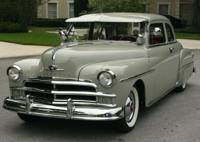 1950 Plymouth Seats : Excellent rust free beauty plymouth special deluxe