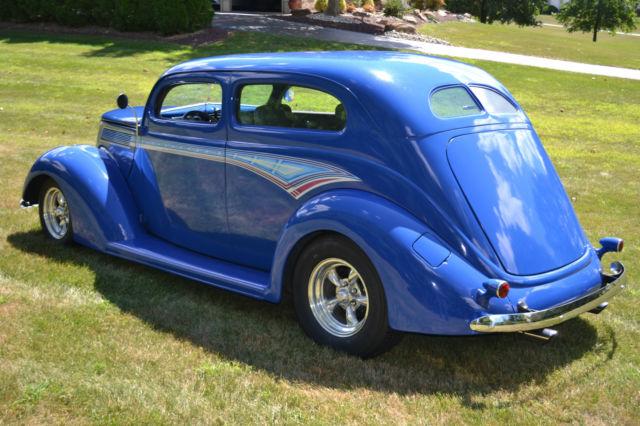 For sale 1937 ford 2 door slant back street rod steel for 1937 ford 2 door