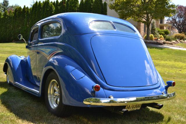 For sale 1937 ford 2 door slant back street rod steel for 1937 ford 2 door sedan for sale