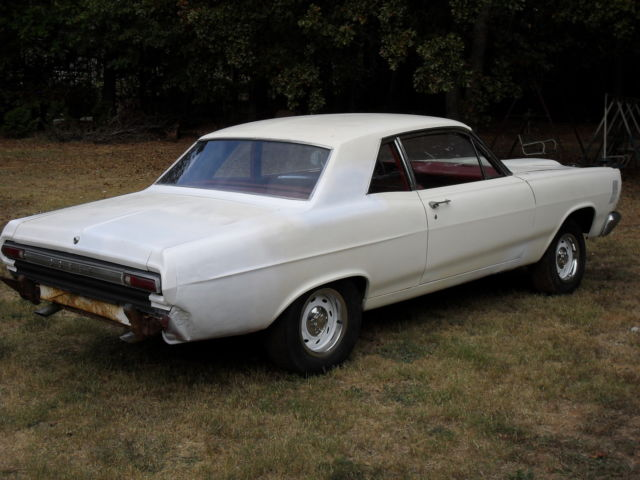 FORD 1966 MERCURY COMET 2 DR COUPE factory 289 2V body,