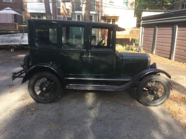 Ford model t fordor 4 door sedan for 1927 ford model t 4 door sedan