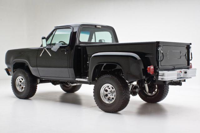 full custom 1979 ram pickup high end build celebrity built truck. Black Bedroom Furniture Sets. Home Design Ideas