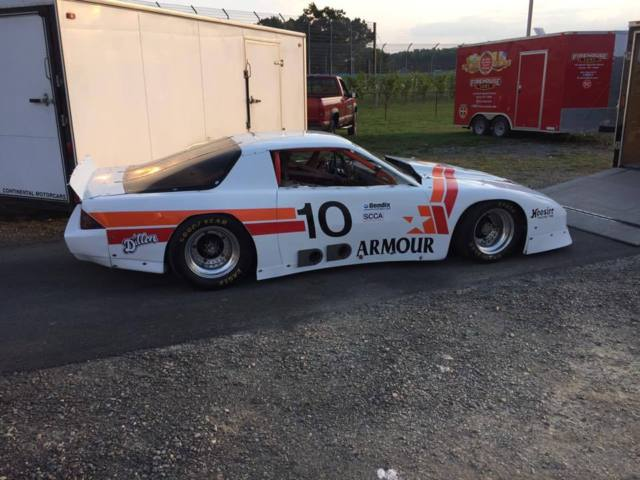 Historic Trans Am Series Race Car Armor Foods 10 Jerry