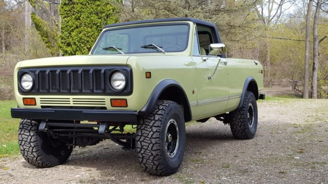 international scout ii terra not jeep or blazer or bronco