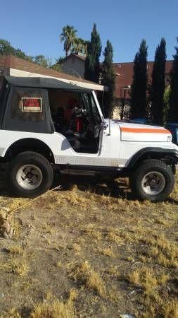 Jeep Cj5 4x4 1976 Winch New Tires Runs Great