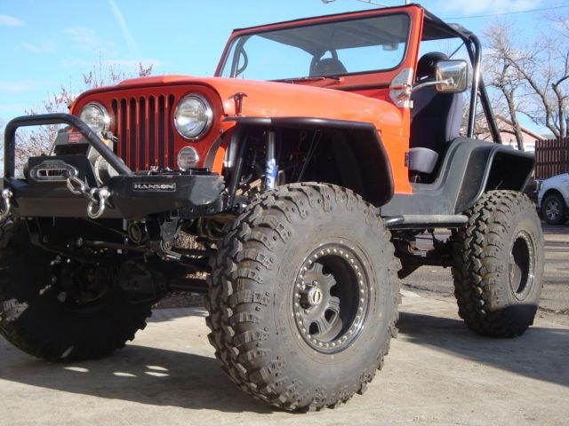 Jeep Cj5 Rock Crawler