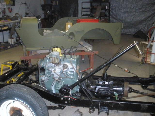 1948 willys jeep cj2a parts list