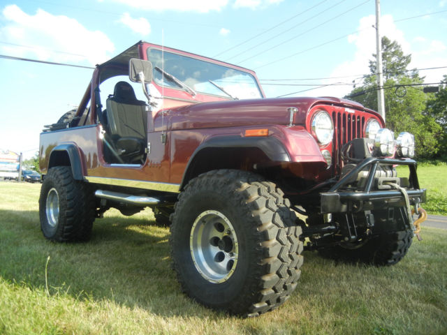 Jeep Wrangler Cj8 Cj 8 Scrambler