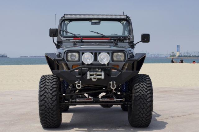 Jeep Wrangler Yj Custom No Reserve