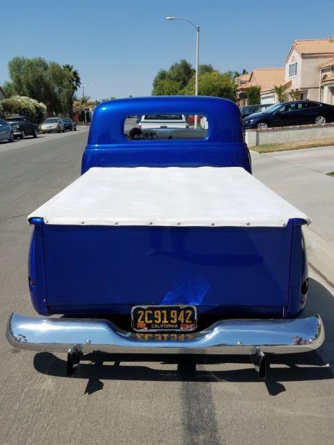 Kustom Chevy Truck Custom on 1954 235 Chevy Engine Headers