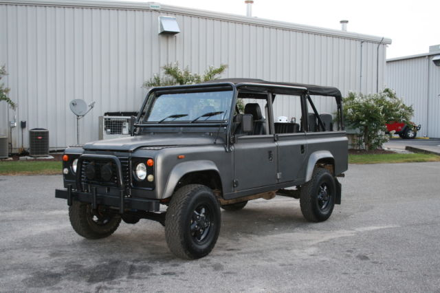 Land Rover Defender Galvanized Chassis V8 Efi Automatic