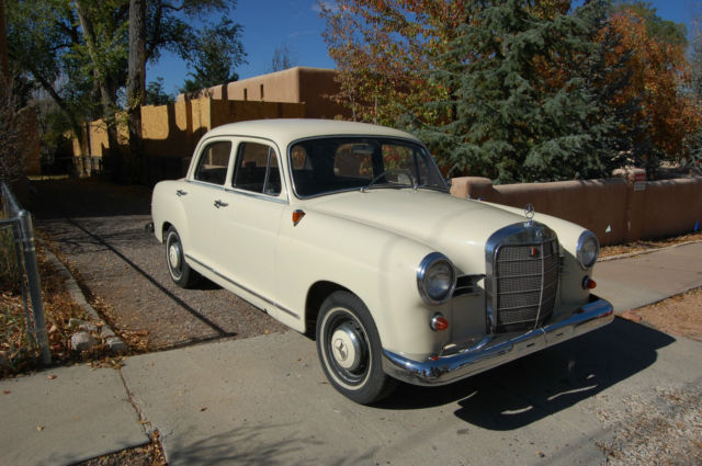 Mercedes benz 190 1959 california car for Mercedes benz socal