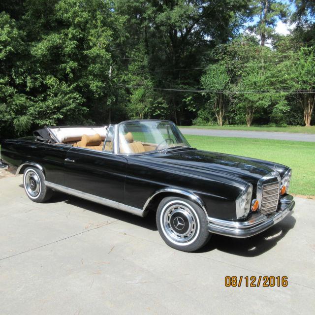 mercedes benz 1970 280 se 3 5 convertible conversion low mileage. Black Bedroom Furniture Sets. Home Design Ideas