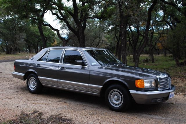 mercedes benz 300sd turbo diesel 1982 excellent condition
