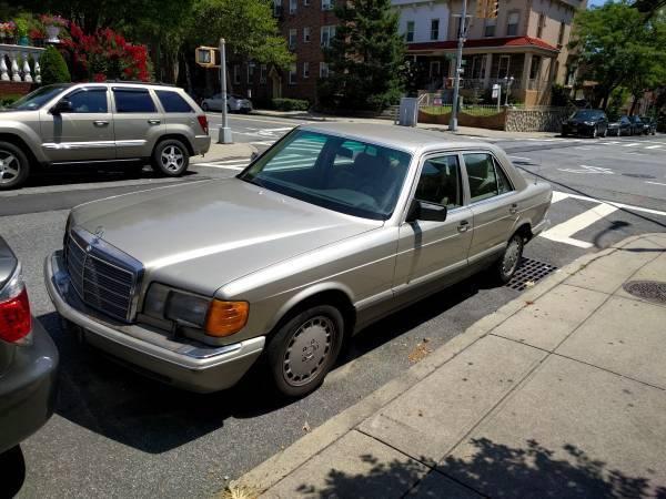 Mercedes benz 300se 1989 runs like new for Mercedes benz parts brooklyn