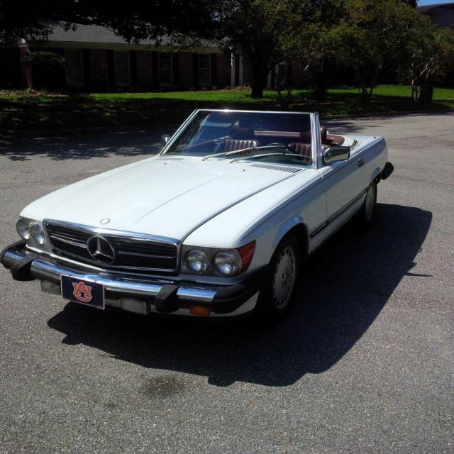 Mercedes benz 560sl convertible and also includes white for Mercedes benz convertible tops