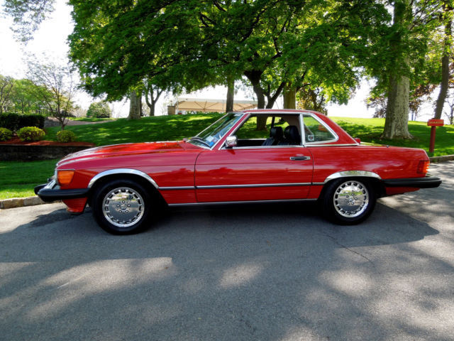 Mercedes benz sl class coupe convertible 1987 for Mercedes benz sl class