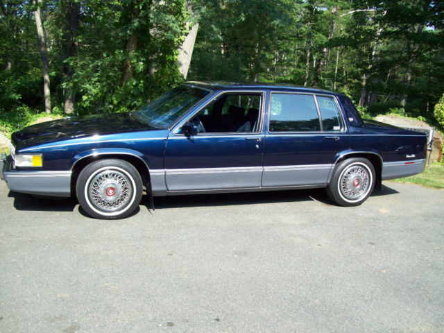 near new 1990 cadillac sedan deville 4 door 4 5l 20 680. Cars Review. Best American Auto & Cars Review