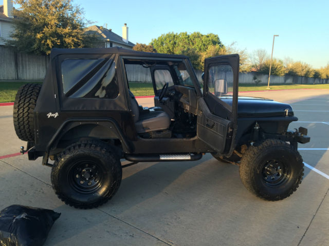 Nice 1991 Jeep Wrangler Yj With Upgrades And New Parts