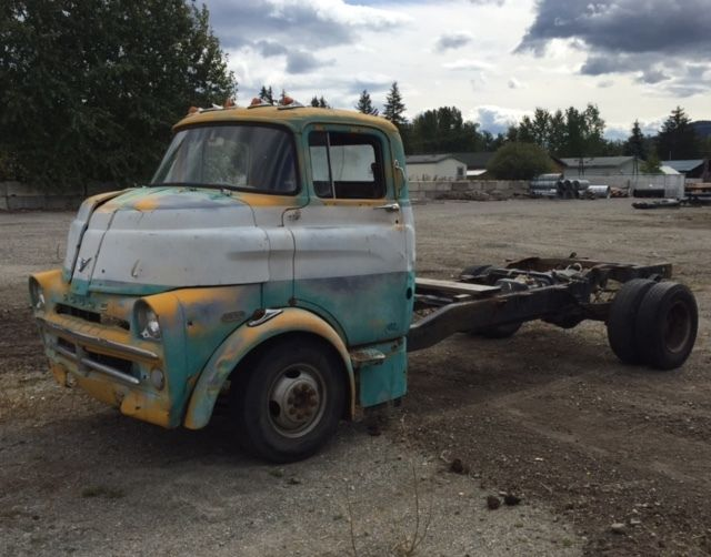 NO RESERVE 1959 Dodge D00 COE truck cabover cab and ...