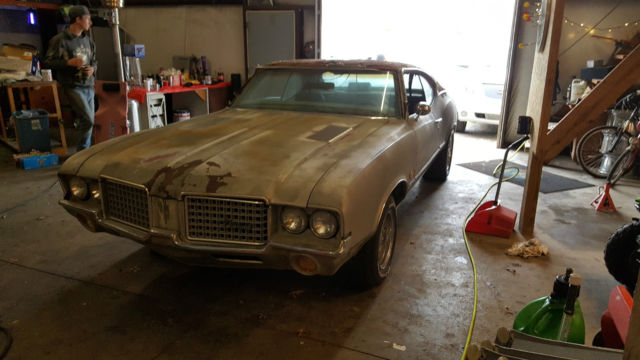 No reserve 1972 olds cutlass s 350 350 clear kansas title for Kansas dept of motor vehicles phone number