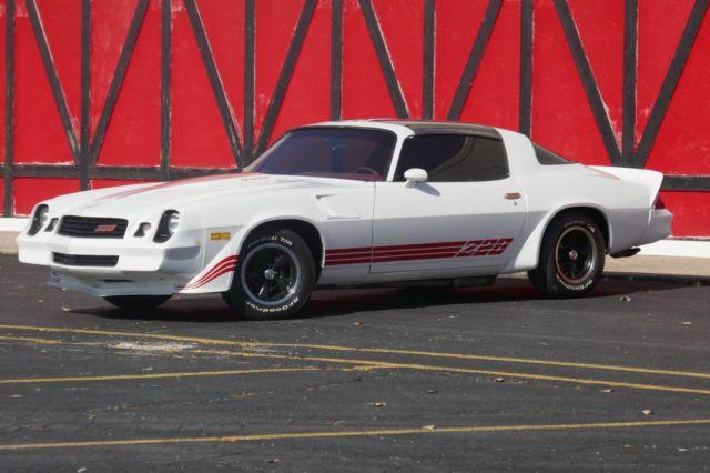 No Reserve 1980 Chevrolet Camaro Z 28 Trim T Tops