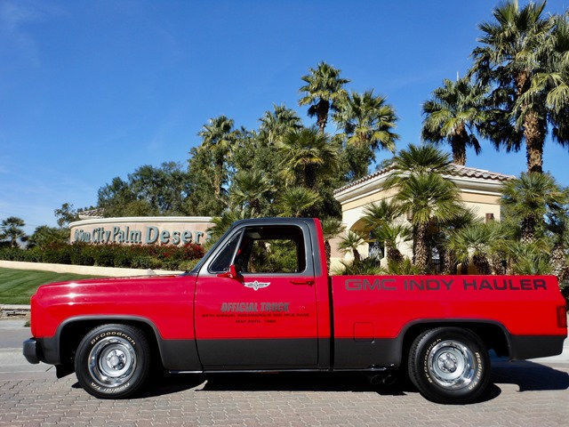 no reserve 1980 gmc c1500 indy 500 truck pickup special edition 1 of 300 produce. Black Bedroom Furniture Sets. Home Design Ideas