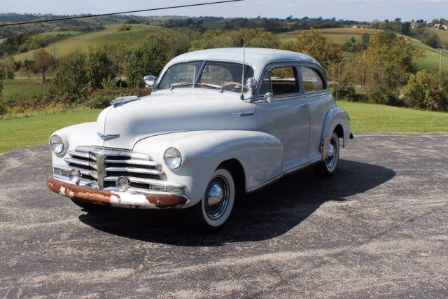 No reserve classic 1948 chevrolet fleetmaster 2 door for 1948 chevy 2 door