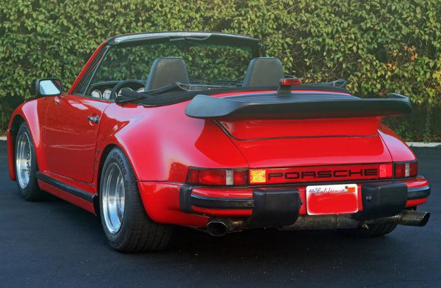 no reserve slant nose 911 sc cabriolet with turbo look. Black Bedroom Furniture Sets. Home Design Ideas