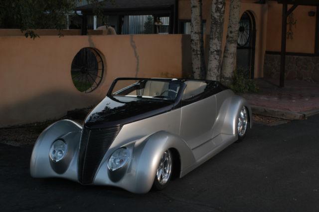 one of a kind car hot rod street rod hard top convertible. Black Bedroom Furniture Sets. Home Design Ideas